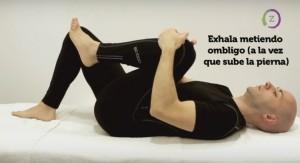 Flexión alterna de caderas
