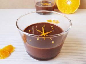 crema de chocolate con naranja